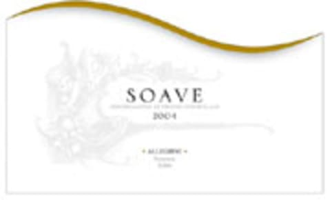 Allegrini Soave 2004 Front Label