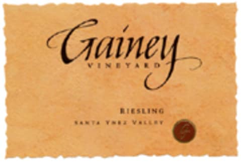 Gainey Riesling 2004 Front Label