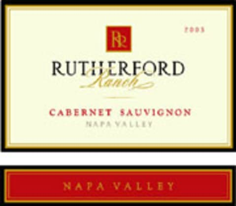Rutherford Ranch Cabernet Sauvignon (375ML half-bottle) 2003 Front Label