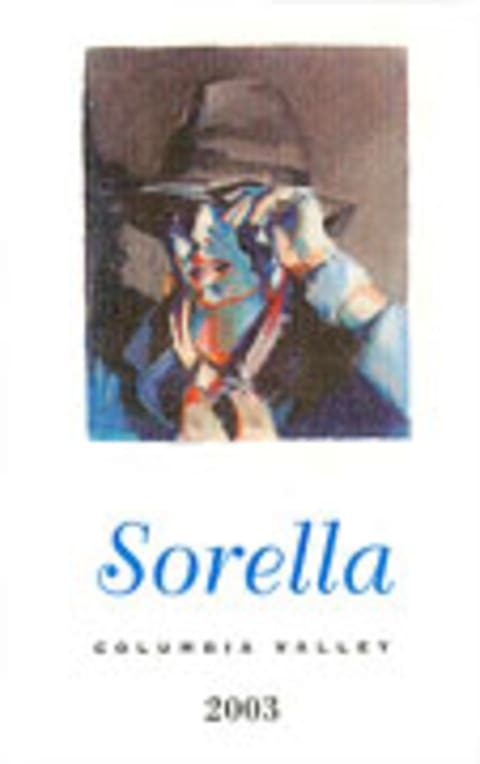 Andrew Will Winery Sorella 2003 Front Label