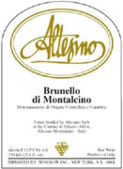 Altesino Brunello di Montalcino 2001 Front Label