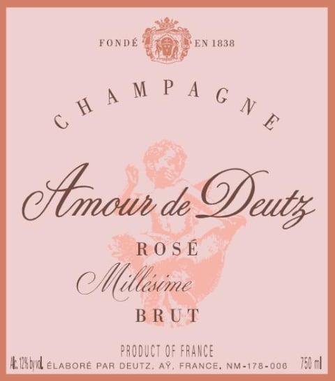 3b7ec611d480b3 Deutz Amour de Deutz Brut Millesime Rose 2008 | Wine.com
