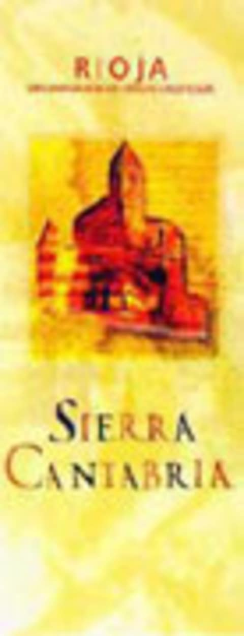 Sierra Cantabria Rioja Tinto 2003 Front Label