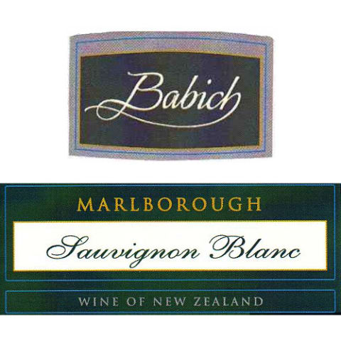 Babich Marlborough Sauvignon Blanc 2006 Front Label