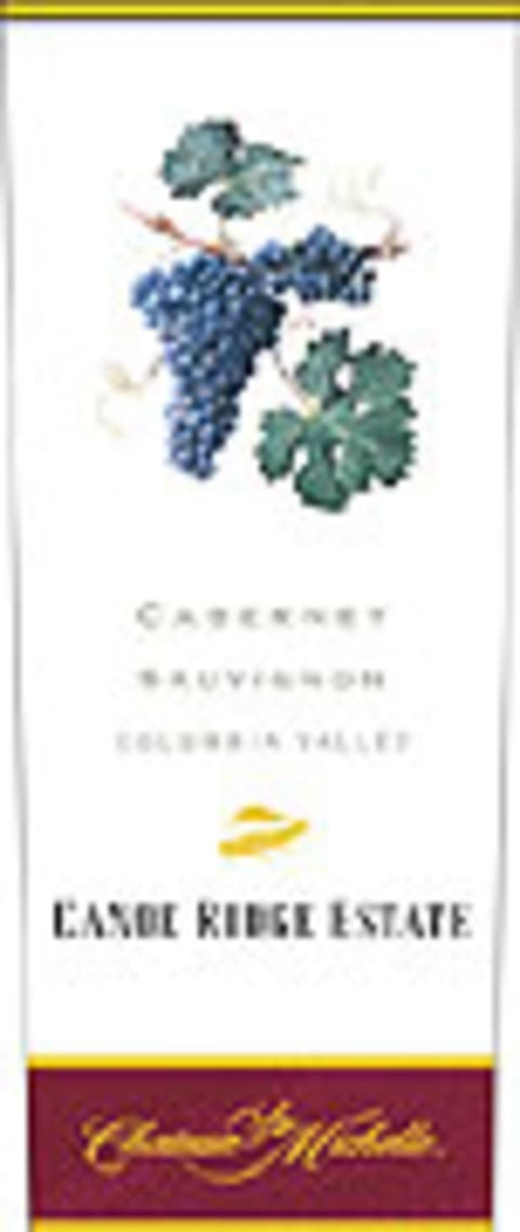Chateau Ste. Michelle Canoe Ridge Estate Cabernet Sauvignon 2003 Front Label