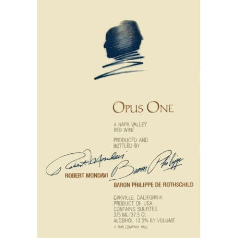 Opus One  2003 Front Label