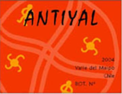 Antiyal  2004 Front Label