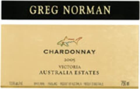 Greg Norman Estates Victoria Chardonnay 2005 Front Label