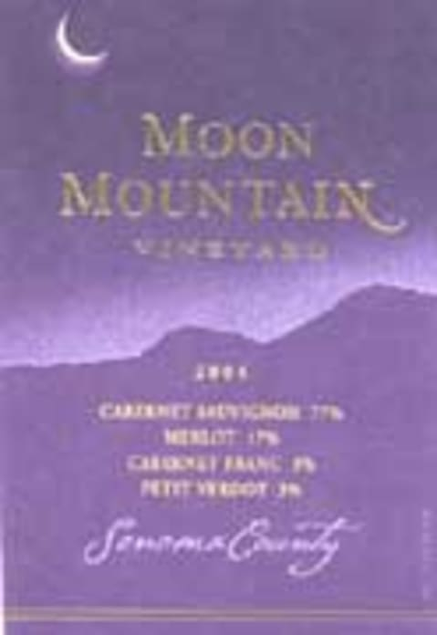 Moon Mountain Cabernet Sauvignon 2004 Front Label