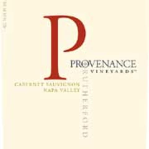 Provenance Vineyards Rutherford Cabernet Sauvignon 2004 Front Label