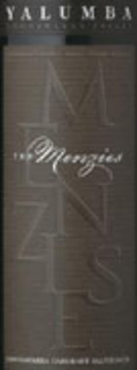 Yalumba The Menzies Cabernet Sauvignon 2003 Front Label