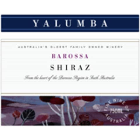 Yalumba Barossa Shiraz 2004 Front Label