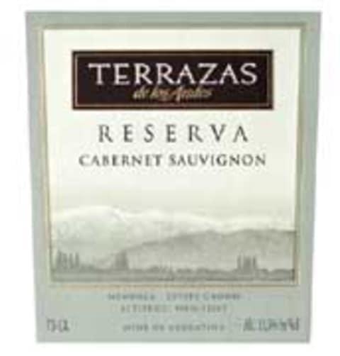 Terrazas De Los Andes Reserva Cabernet Sauvignon 2004