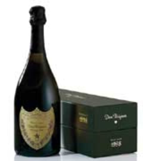 Dom Perignon Vintage with Gift Box 1998 Front Label