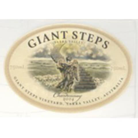 Giant Steps Chardonnay 2004 Front Label