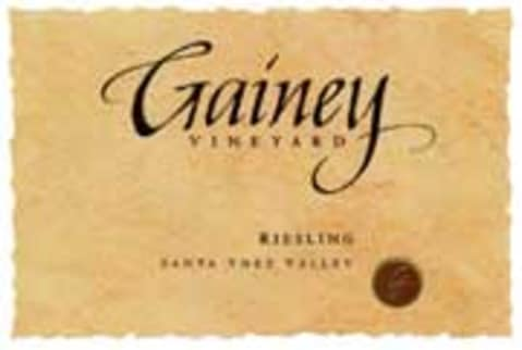 Gainey Riesling 2005 Front Label