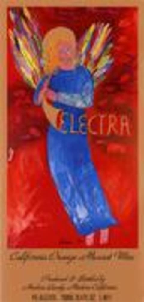 Quady Electra California Moscato 1998 Front Label