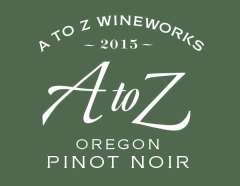 A to Z Pinot Noir 2015 Front Label