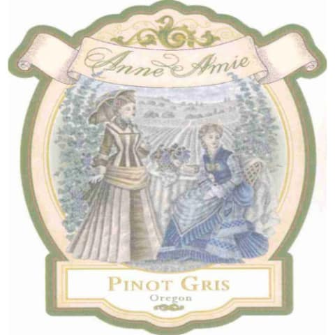 Anne Amie Pinot Gris 2005 Front Label