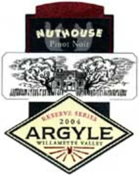 Argyle Nuthouse Pinot Noir 2004 Front Label