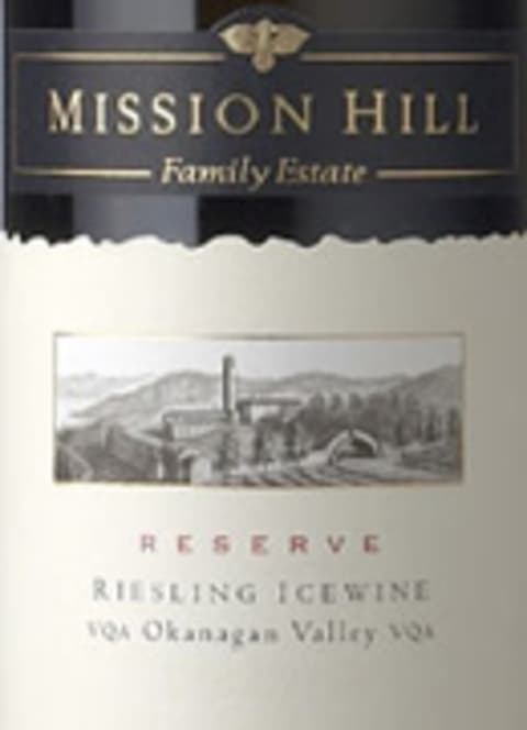 Mission Hill Riesling Icewine (half-bottle) 2006 Front Label