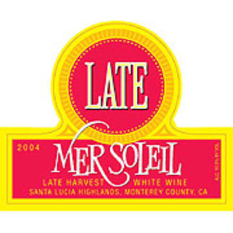Mer Soleil Late (half-bottle) 2004 Front Label
