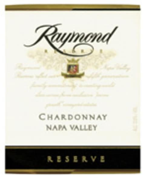 Raymond Reserve Selection Chardonnay 2006 Front Label