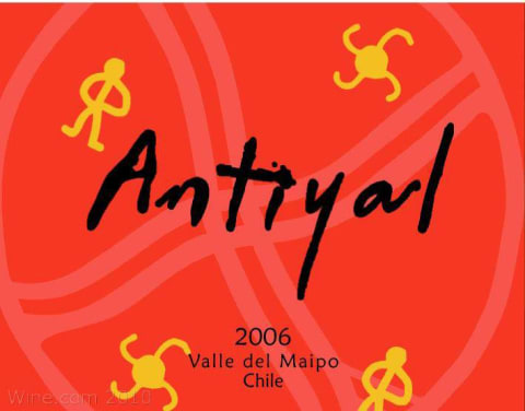 Antiyal  2006 Front Label