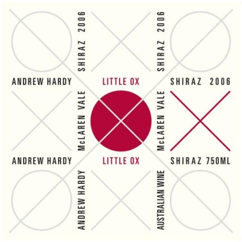Andrew Hardy Little Ox Shiraz 2006 Front Label
