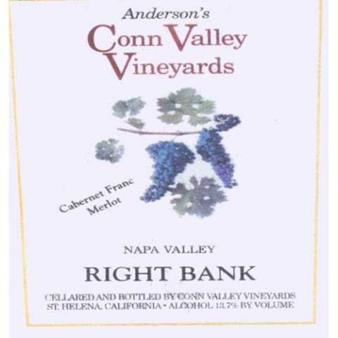 Anderson's Conn Valley Vineyards Right Bank Proprietary Red Blend 2006 Front Label