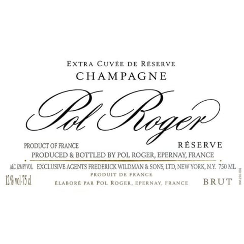 Pol Roger Brut (375ML half-bottle) Front Label