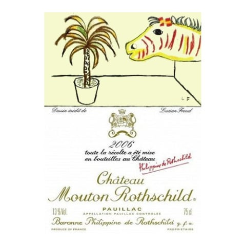 Chateau Mouton Rothschild  2006 Front Label