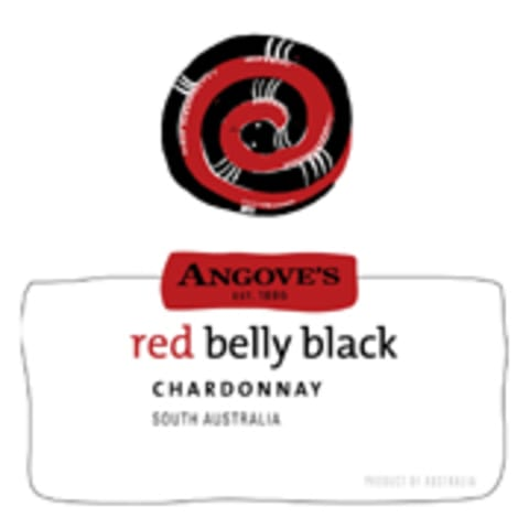 Angove Family Winemakers Red Belly Black Chardonnay 2007 Front Label
