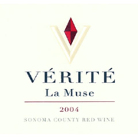 Verite La Muse 2004 Front Label