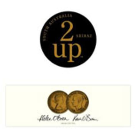 2 up Shiraz 2007 Front Label