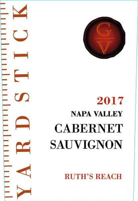 Yardstick Ruth's Reach Napa Valley Cabernet Sauvignon 2017  Front Label