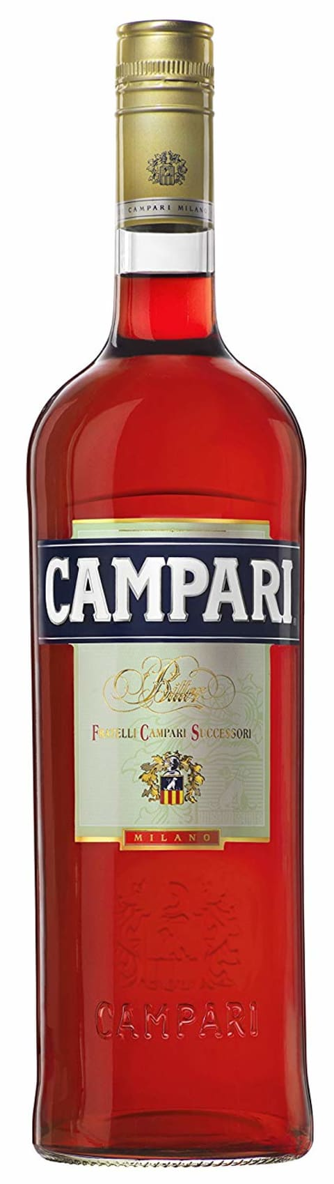 Campari Aperitivo Liqueur  Front Bottle Shot