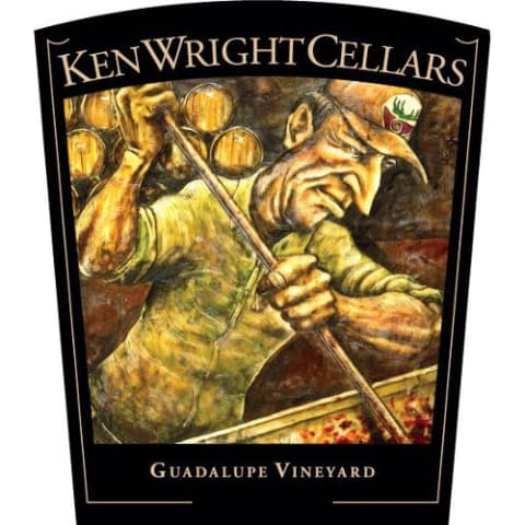 Ken Wright Cellars Guadalupe Vineyard Pinot Noir 2017  Front Label