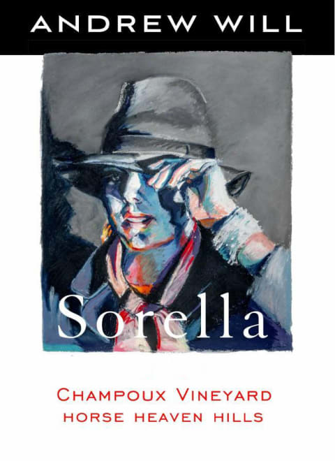 Andrew Will Winery Sorella 2016  Front Label