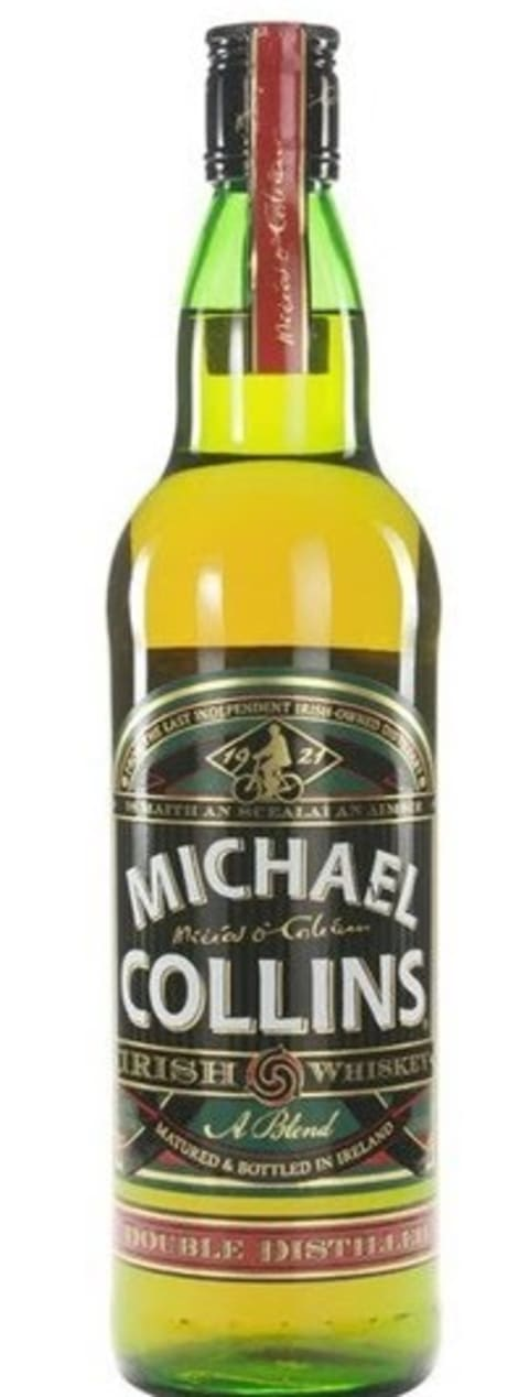 Michael Collins Irish Whiskey  Front Bottle Shot