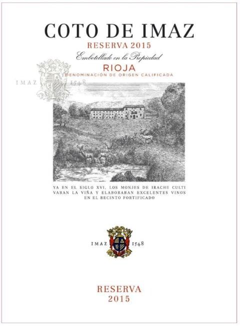 El Coto Coto De Imaz Reserva 2015 Wine Com