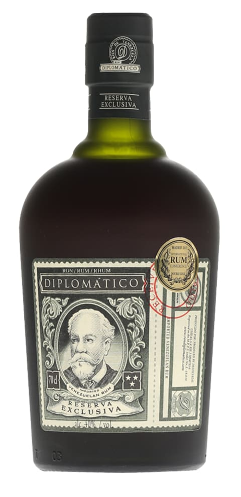 Diplomatico Reserva Exclusiva Rum Front Bottle Shot