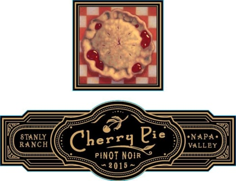 Cherry Pie Stanly Ranch Pinot Noir 2015 Front Label