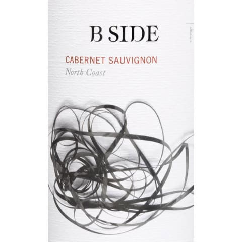 B Side North Coast Cabernet Sauvignon 2017  Front Label