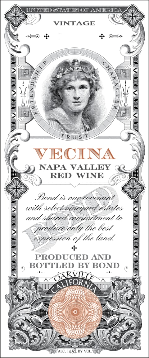 Bond Vecina 2015  Front Label