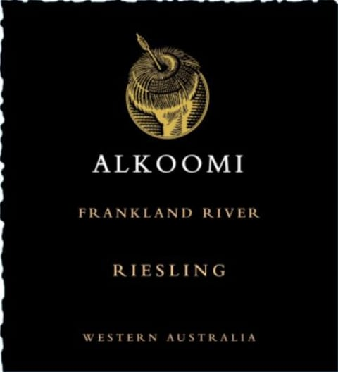 Alkoomi Black Label Riesling 2019  Front Label