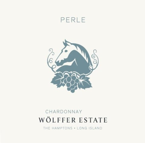 Wolffer Estate Perle Chardonnay 2017 Front Label