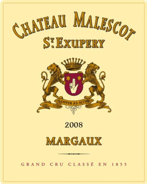 Chateau Malescot St. Exupery  2008  Front Label