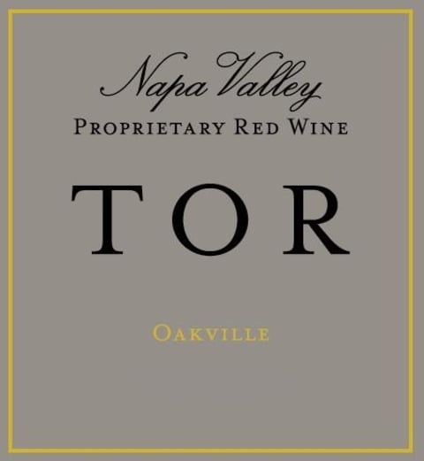 TOR Oakville Proprietary Red 2015 Front Label