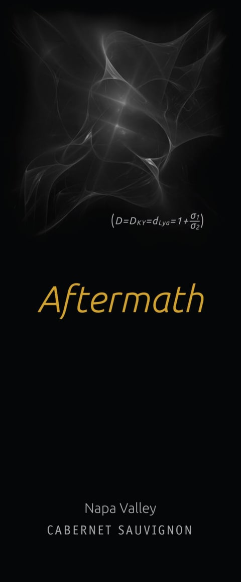 Aftermath Cabernet Sauvignon 2014  Front Label